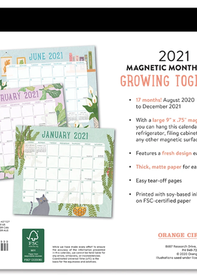 Studio Oh! Magnetic Monthly Pad Growing Together