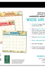 Studio Oh! Magnetic Monthly Pad Where Love Grows