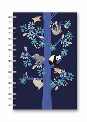 Studio Oh! Medium Spiral Notebook The Sleeping Tree