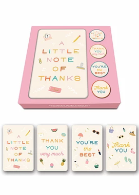 Studio Oh! Notecard Set Tiny Treasures Thank You