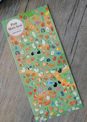 Stickers Petite Mark Seal  Animals