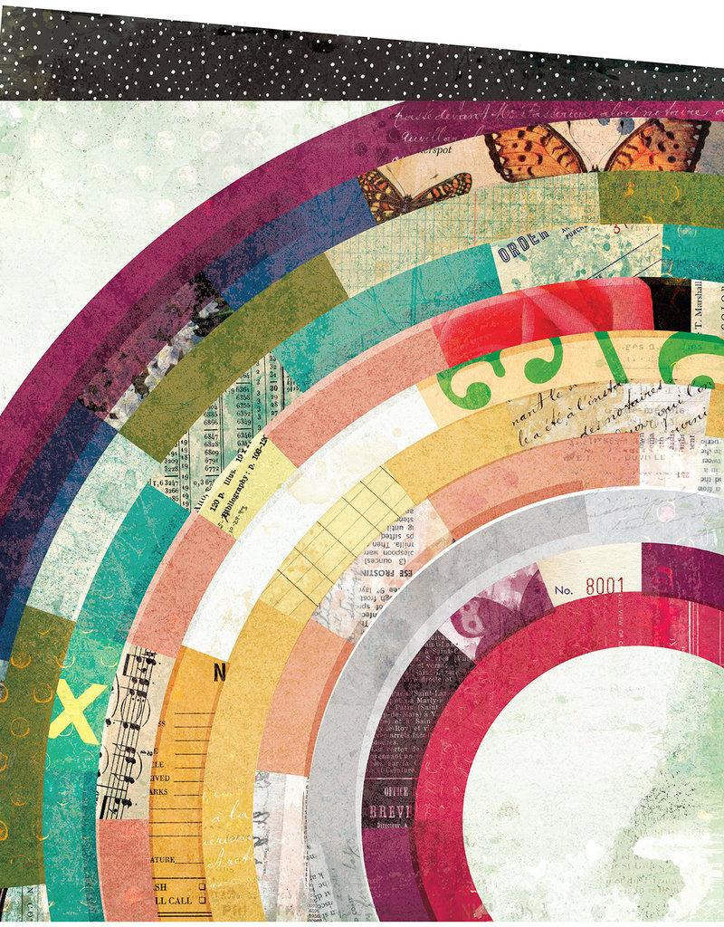 Vicki Boutin 12 x 12 Decorative Paper Composition