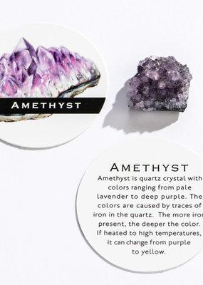 GeoCentral Amethyst Clusters 1-1.25 Inch