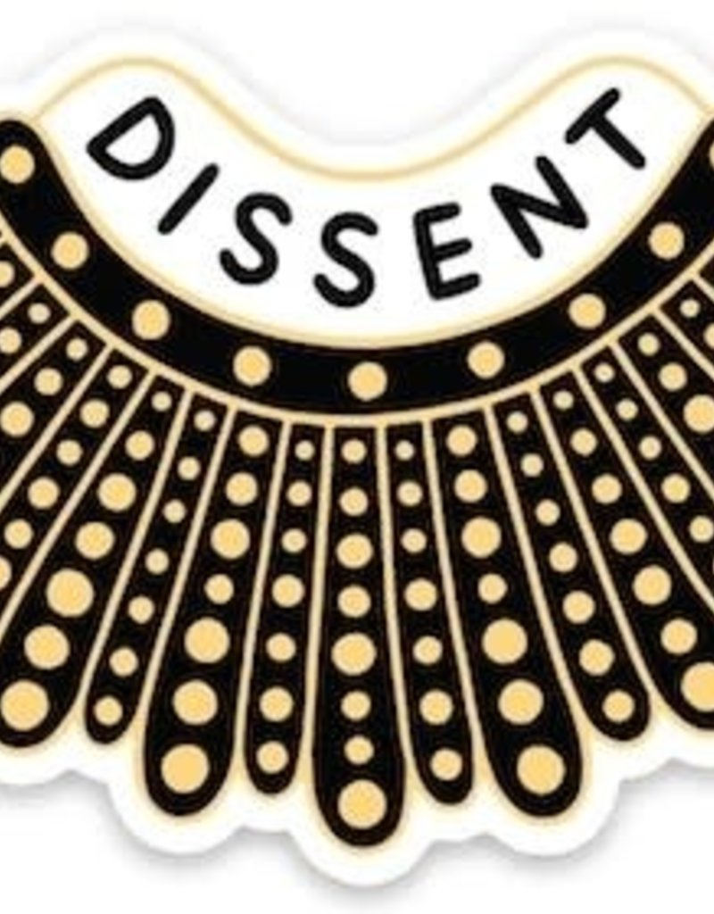 The Found Sticker Dissent Collar