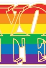 The Found Sticker Vote Rainbow