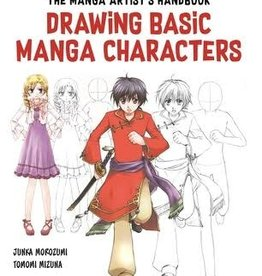 Ingram Manga Artist's Handbook Drawing Basic Characters