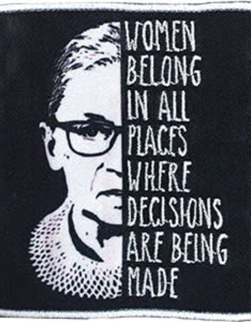 C & D Visionary Patch RBG Quote