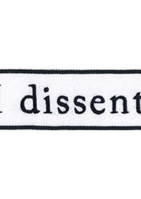 C & D Visionary Patch RBG I Dissent