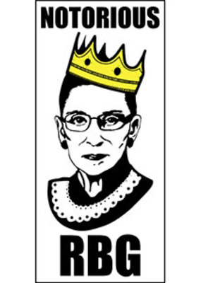 C & D Visionary Sticker RBG Notorious