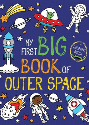 Simon & Schuster My First Big Book of  Outter Space