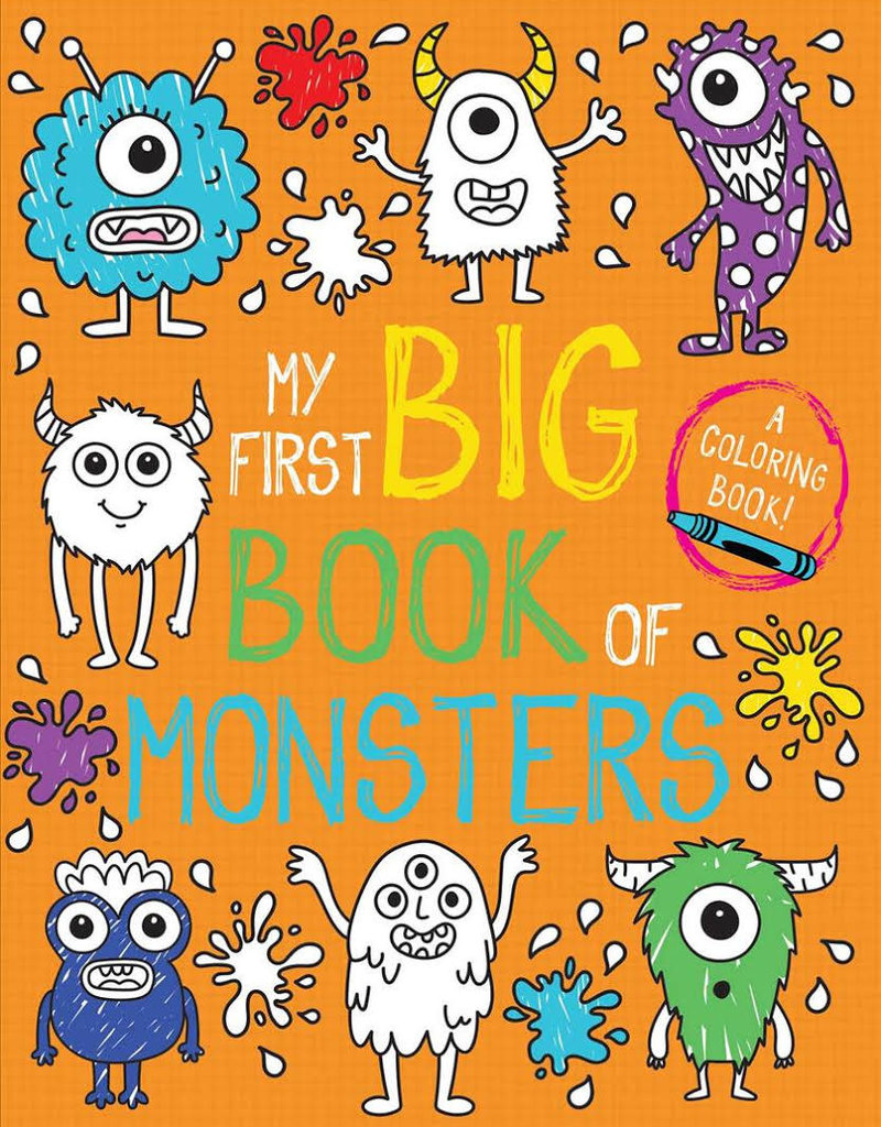 Simon & Schuster My First Big Book of  Monsters