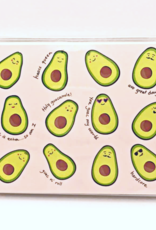 Waste Not Boxed Cards Avocado