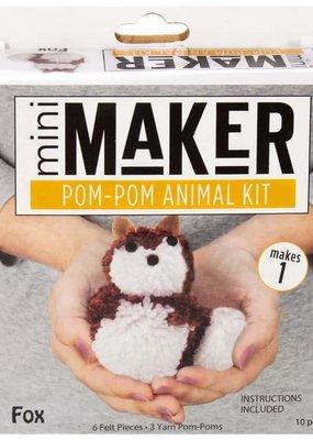 Leisure Arts Mini Maker Pom Pom  Fox Kit