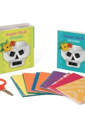 Running Press Sugar Skull Origami Kit