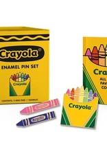 Running Press Crayola Enamel Pin Set