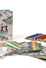 Running Press Art Therapy Coloring Kit