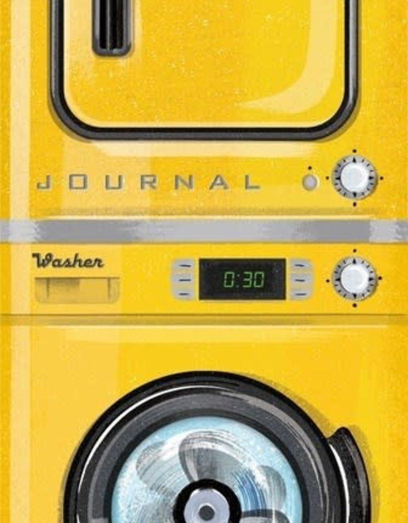 Running Press Journal Vintage Washer Dryer