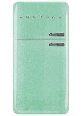 Running Press Journal Vintage Refrigerator