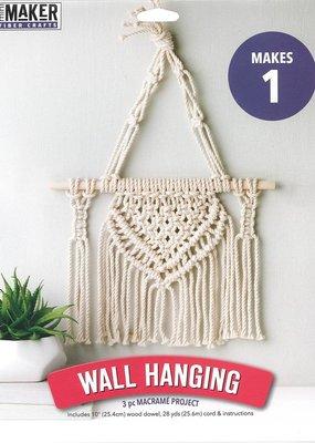 Leisure Arts Mini Maker Macrame Wall Hanging