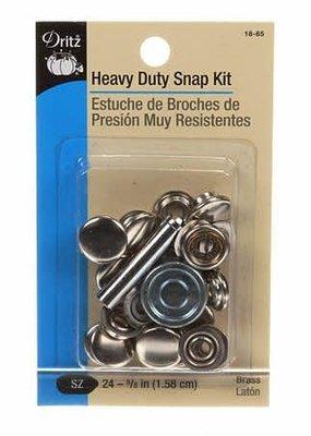 Dritz Dritz Heavy Duty Snap Kit Size 24