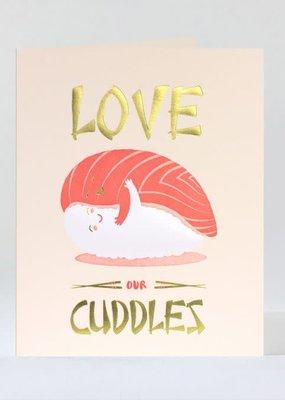 Elum Card  Sushi Cuddles