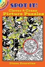 Dover Spot It! Clever And Crazy Picture Puzzles