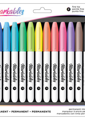 American Crafts Markables Permanent Marker 12 Pack