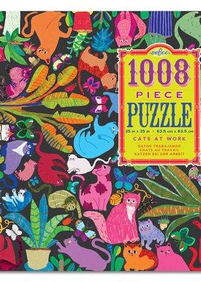 eeBoo Puzzle Cats At Work 1000 Piece
