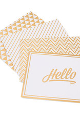 American Crafts Boxed Cards Golden
