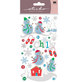 Sticko Stickers Chilly Snowmen