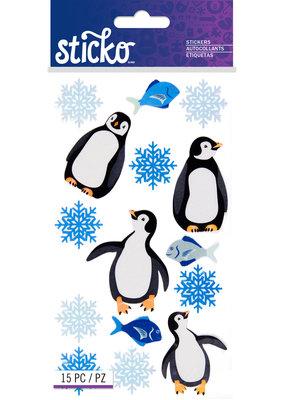 Sticko Sticker Sparkly Penguin