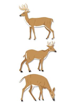 Stickers Dimensional Deer
