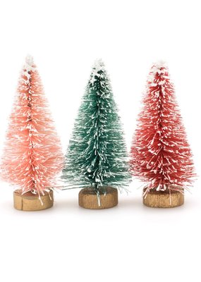 Crate Paper Hey Santa Wire Brush Trees Multicolor