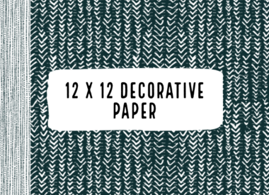 12x12 Decorative Paper
