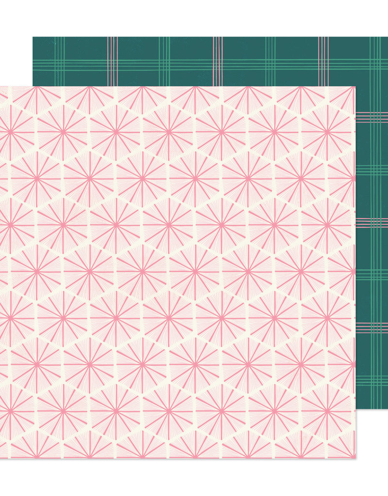 Crate Paper 12 x 12 Decorative Paper Peppermint