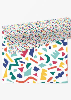 march Wrap Sheet  Confetti