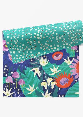 march Wrap Sheet  Night Bloom