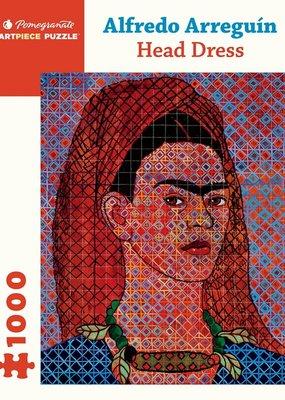 Pomegranate 1000 Piece Puzzle Alfredo Arreguin Head Dress