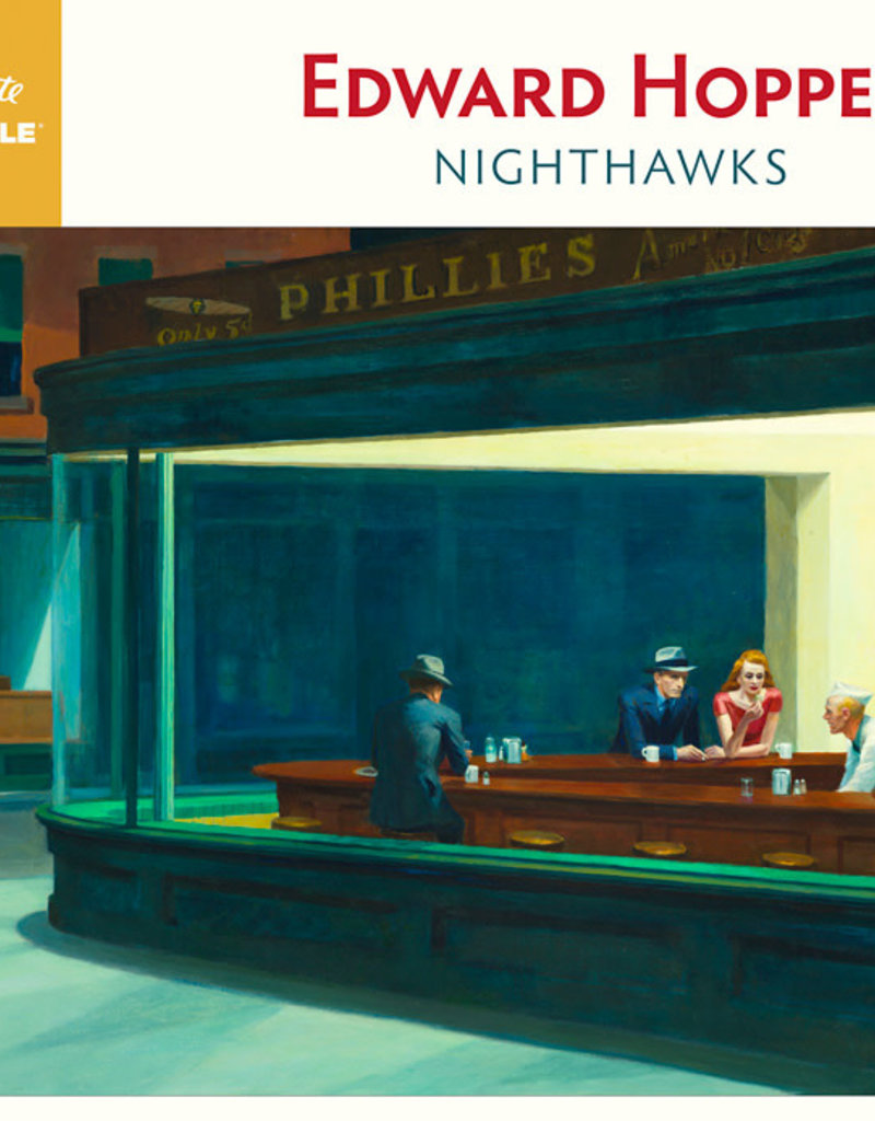 Pomegranate 1000 Piece Puzzle Edward Hopper Nighthawks