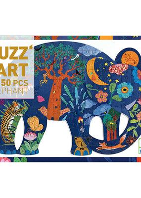 DJECO Puzz' Art Puzzle  Elephant
