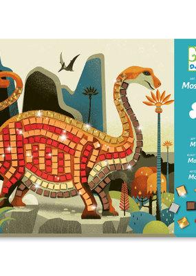 DJECO Petit Mosaics Kit Dinosaurs