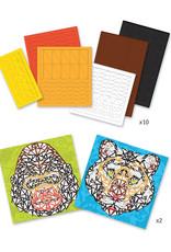 DJECO Grand Mosaics Kit Khan