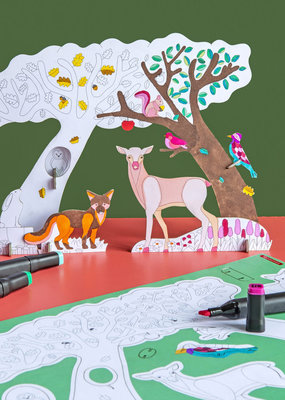 Studio Roof Animal Scenes Forest Story