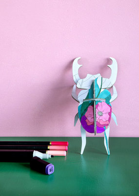 Studio Roof DIY Insects Stag Beetle
