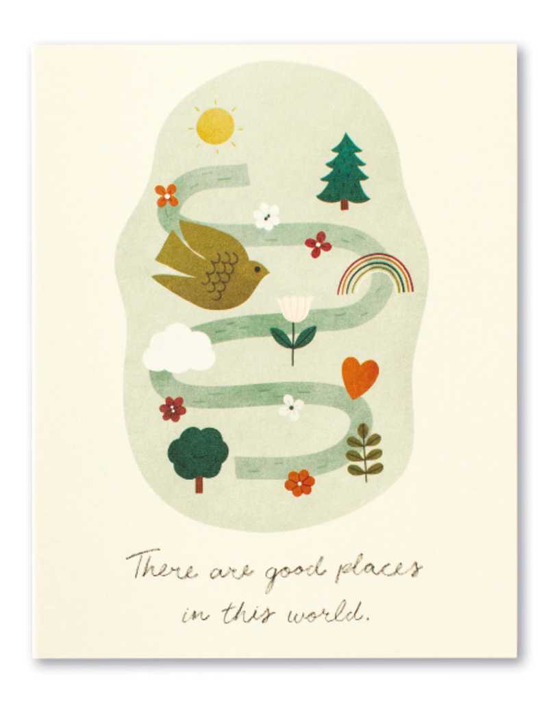 Compendium Inc. Card Good Places In This World