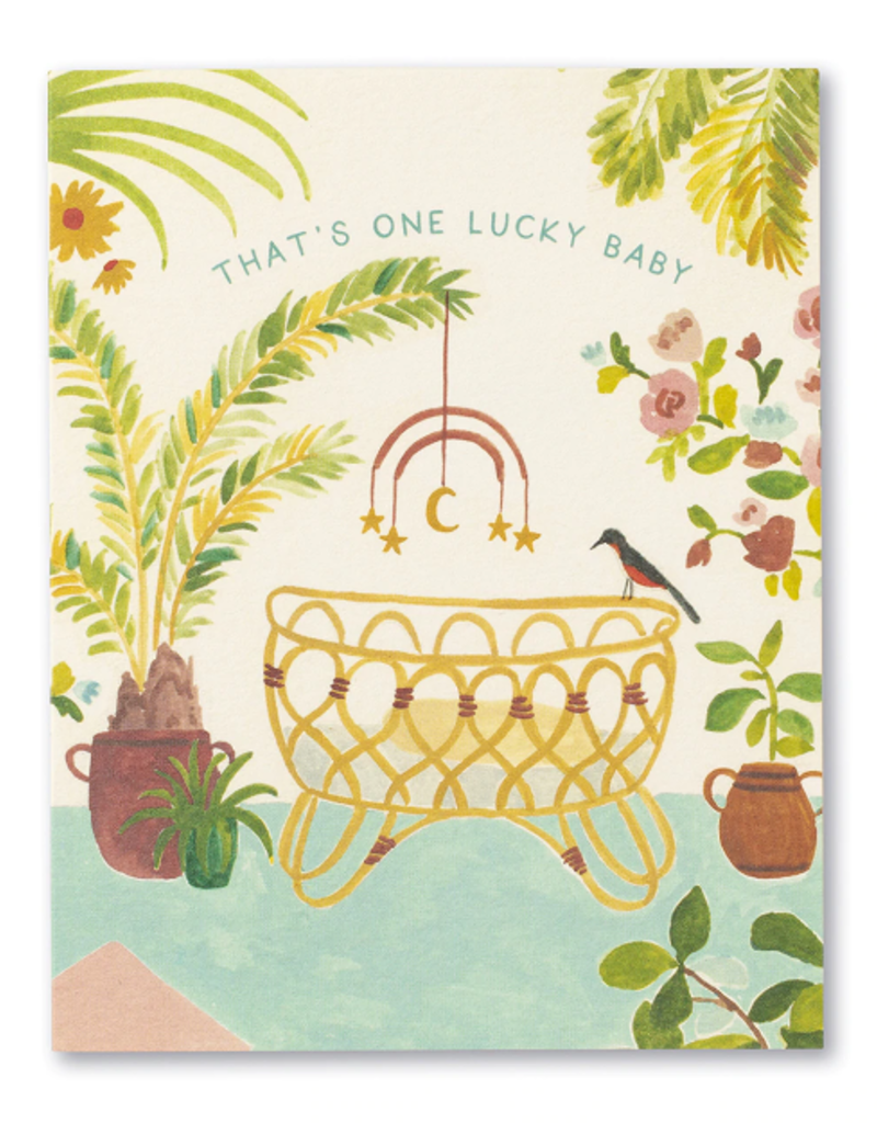 Compendium Inc. Card One Lucky Baby