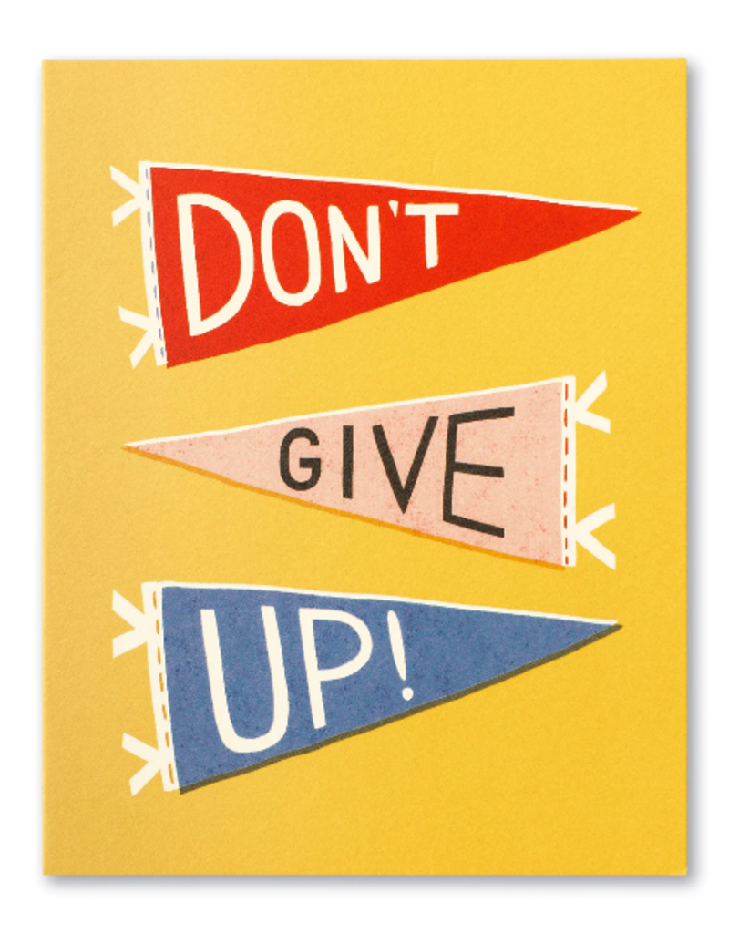 Compendium Inc. Card Don't Give Up