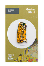 Today is Art Day Art History Enamel Pin The Kiss