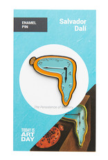 Today is Art Day Art History Enamel Pin Persistence of Memory