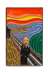 Today is Art Day Art History Enamel Pin The Scream